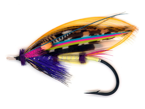 'Neon Jock Scott' by Chris J. Wesson :: The LOONS Flyfishing Club