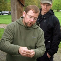 Peter Morrison at LFFC Casting Clinic 2010 :: The LOONS Flyfishing Club