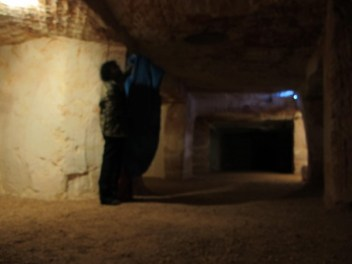 Underground Camping spot at Coober Pedy