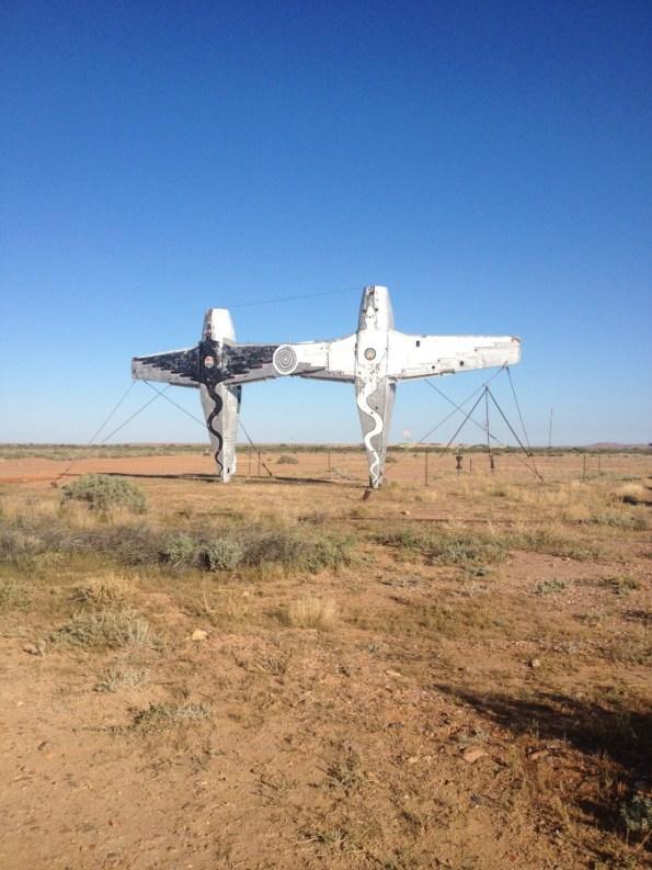 is that flying doctor service left behind injured flying service? desert park!