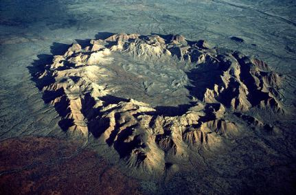 Amazing Gosse Bluff crater....Image by Georg Gerster.