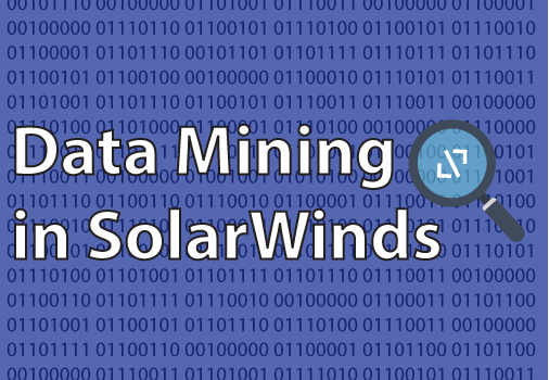 Data Mining with SolarWinds
