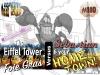 Your hometown, Disney's Sebastian, Foie Gras, and the Eiffel Tower