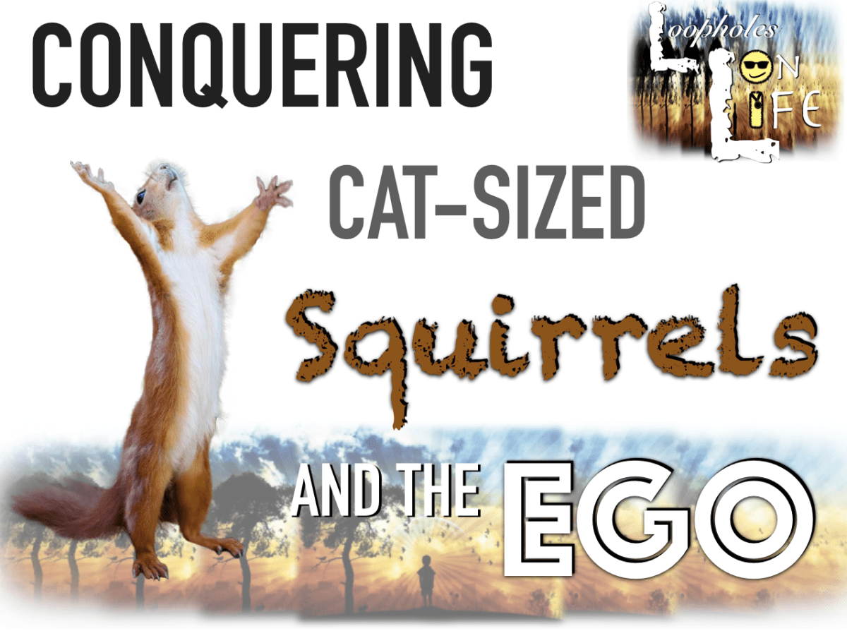 how to stop squirrels and defeat the ego!