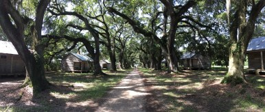 Evergreen Plantation Slave Quarters