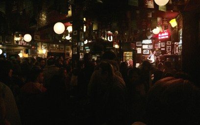 Packed Inside Temple Bar