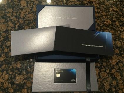 Chase Sapphire Reserve Unboxing Video