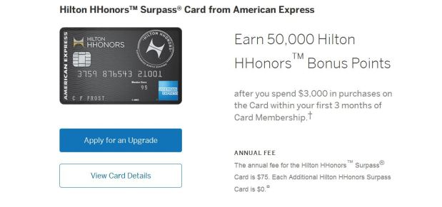 amex upgrade offer 2
