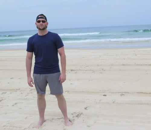 Beach Day on North Stradbroke Island, Australia
