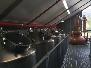 Production Area - Pots and Stills