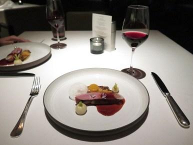 Course 4 - Muscovy Duck Breast w/ Pinot Noir