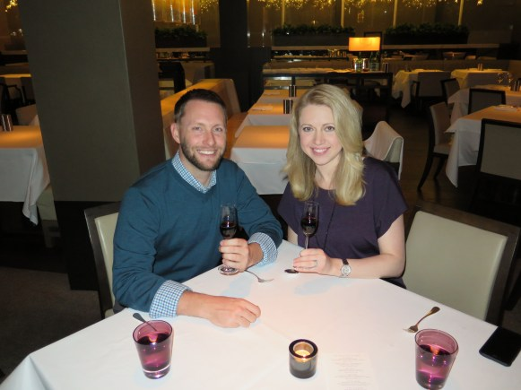 Fancy Dinner at the Park Hyatt Sydney