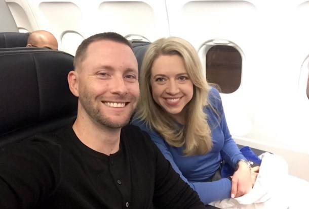 Keeping warm on the long flight