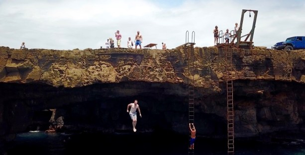Cliff diving - Limitless indeed!