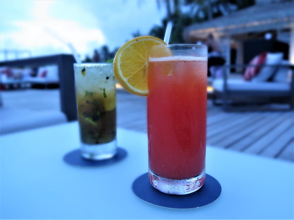 Sunset Cocktails by the Water