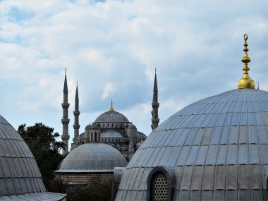 Blue Mosque, from the Hagia Sophia upper window