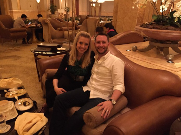 Golden Dinner at Emirates Palace
