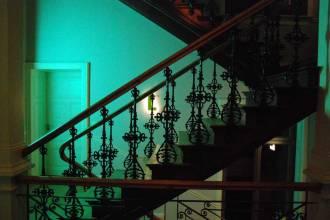 Lindenberg ein richtig tolles Hotel in Frankfurt mit schoenem Treppenhaus