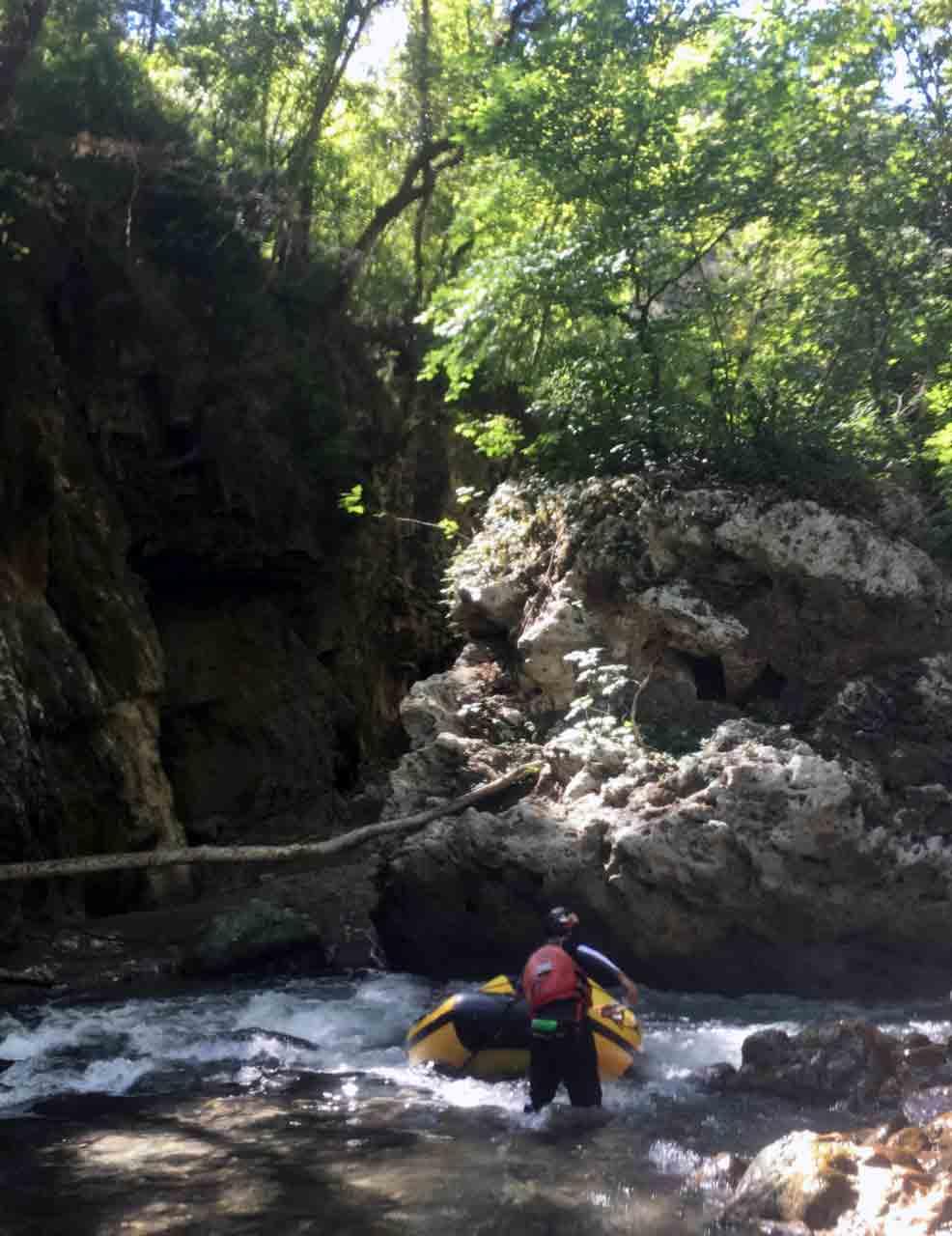 Rafting in Kalabrien