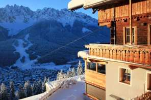 Der Bergbauernhof Glinzhof in Südtirol