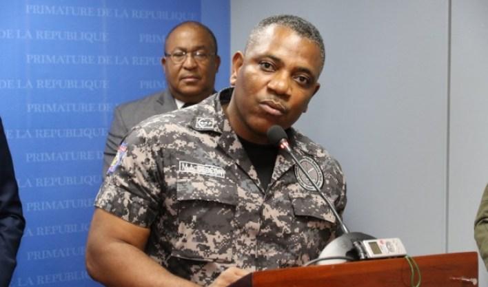 Michel Ange Gédéon, Directeur Général de la Police Nationale d'Haïti