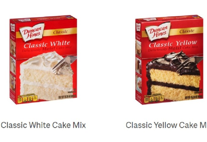 Ministry Of Health Duncan Hines Cake Mix Recalled Loop News
