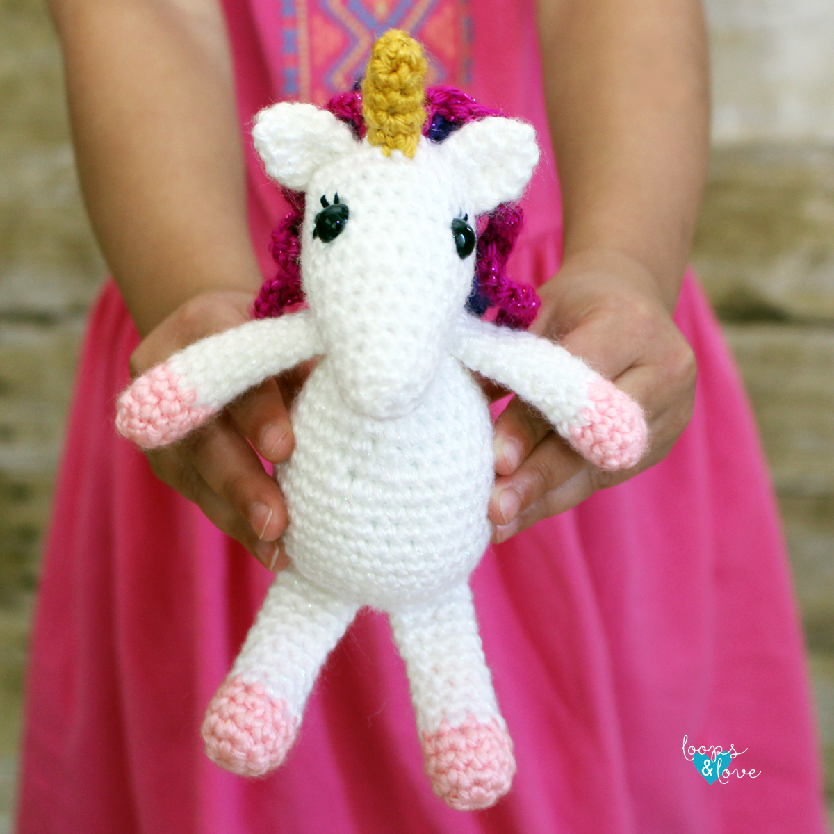 Mini Unicorn Amigurumi