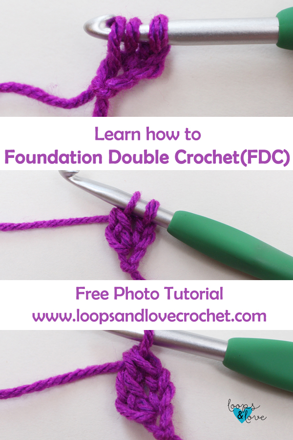 Photo Tutorial: Foundation Double Crochet