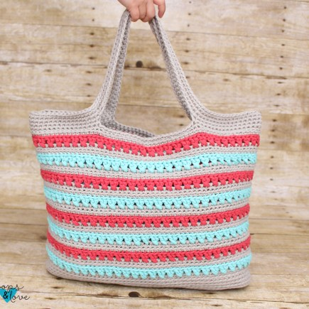 Beach Please Summer Tote Crochet Bag Pattern