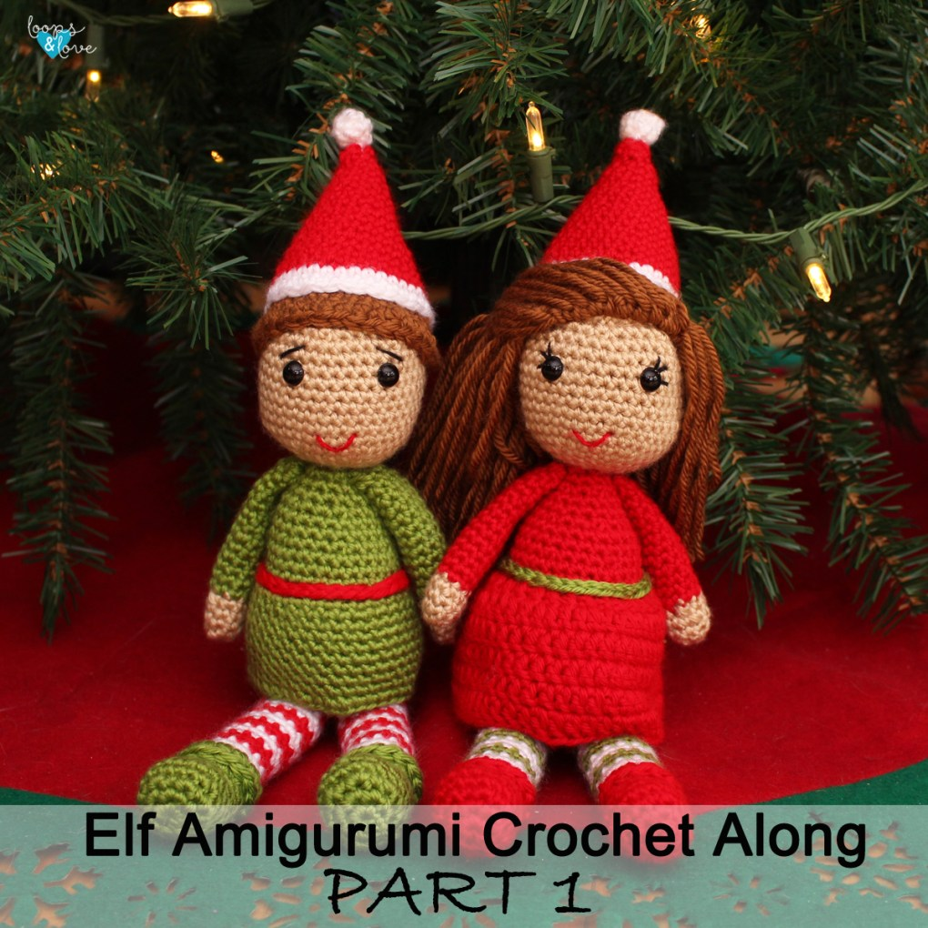 Free pattern – Christmas Elf Bust - Dendennis | Crochet | Knit | Craft | 1020x1020