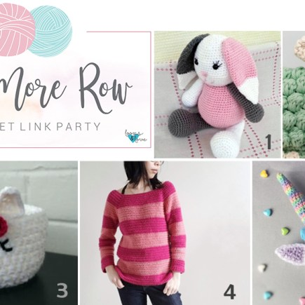 2ff22c15376 One More Row – Free Pattern Link Party  2
