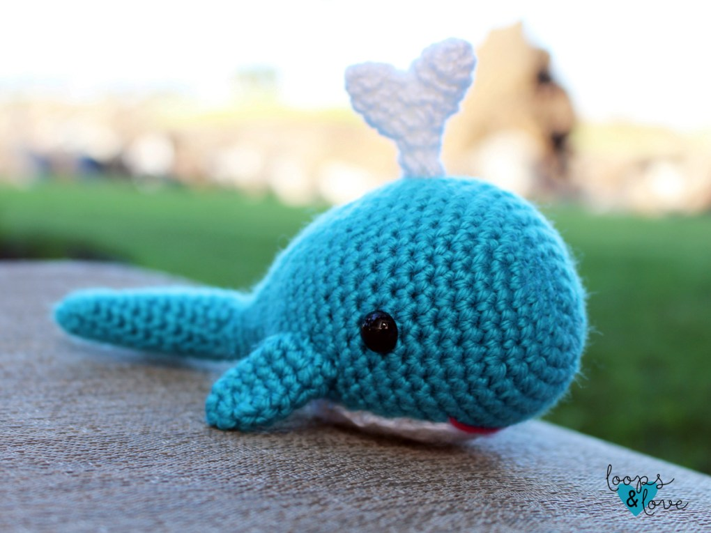 whale amigurumi photo