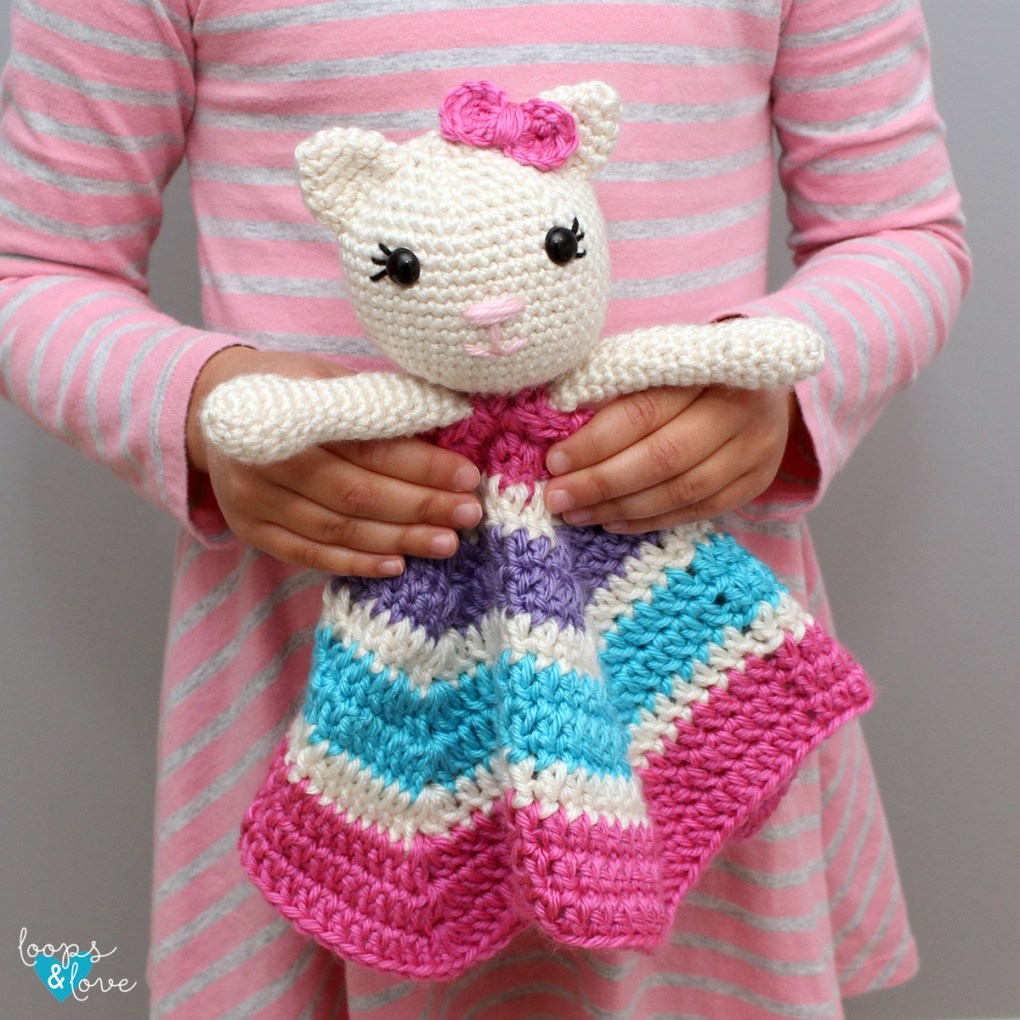Kitty Lovey photo - pattern by Loops and Love Crochet