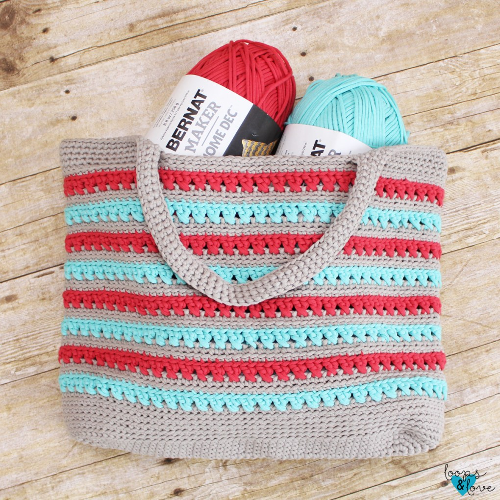 crochet on the go project bag