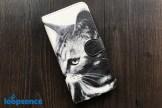 ループセンスオリジナル。【受注生産】猫フォトデザイン。オリジナル手帳型スマホケースNo.24