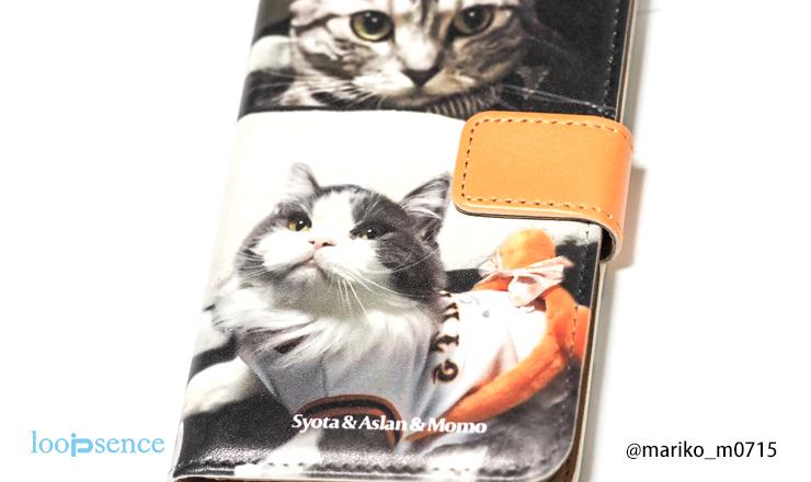 愛猫のオーダースマホケース作品