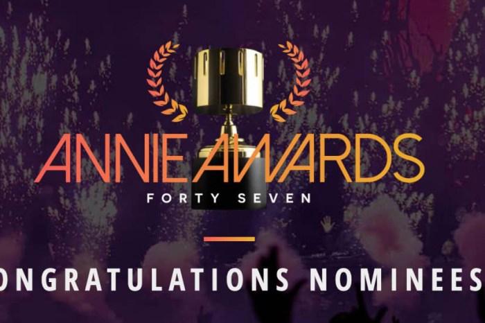 2020第47屆安妮獎 入圍得獎名單