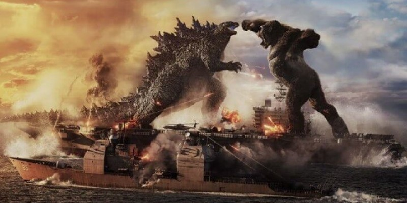 《哥吉拉大戰金剛》預告釋出,台灣3/26上映王者一決勝負