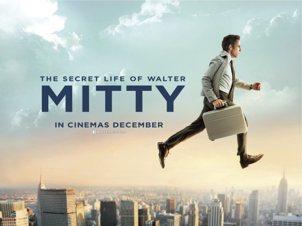 Secret Life of Walter Mitty Teaser Quad