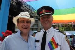 Norm & Toronto Police Chief Bill Blair