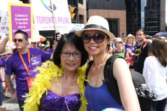 Meeting mayoral candidate Olivia Chow