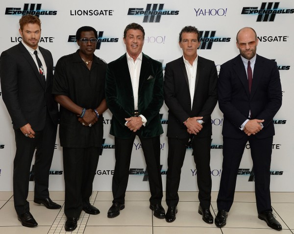 "World Premiere For ""The Expendables 3"""