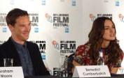 The Imitation Game: Benedict Cumberbatch & Keira Knightley