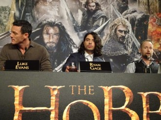 Luke Evans, Ryan Gage & Billy Boyd