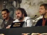 Richard Armitage, Peter Jackson & Martin Freeman