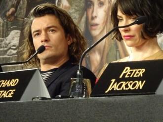 Orlando Bloom & Evangeline Lilly