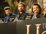 Andy Serkis, Lee Pace & Orlando Bloom