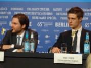 Daniel Bruhl & Max Irons - Woman in Gold - Berlinale 2015