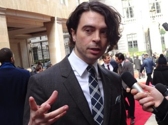 Jameson Empire Awards 2015: Ryan Gage aka Alfrid from The Hobbit