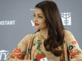 Aishwarya Rai Bachchan at He For She panel.